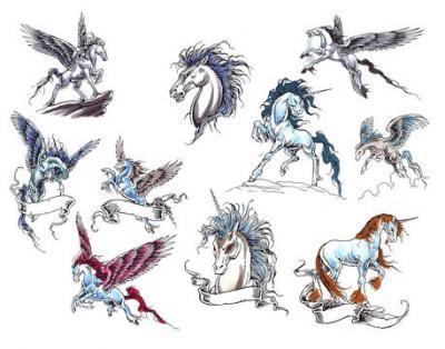 Tattoo volution serge tatoueur pierceur depuis plus for Unicorn horn tattoo
